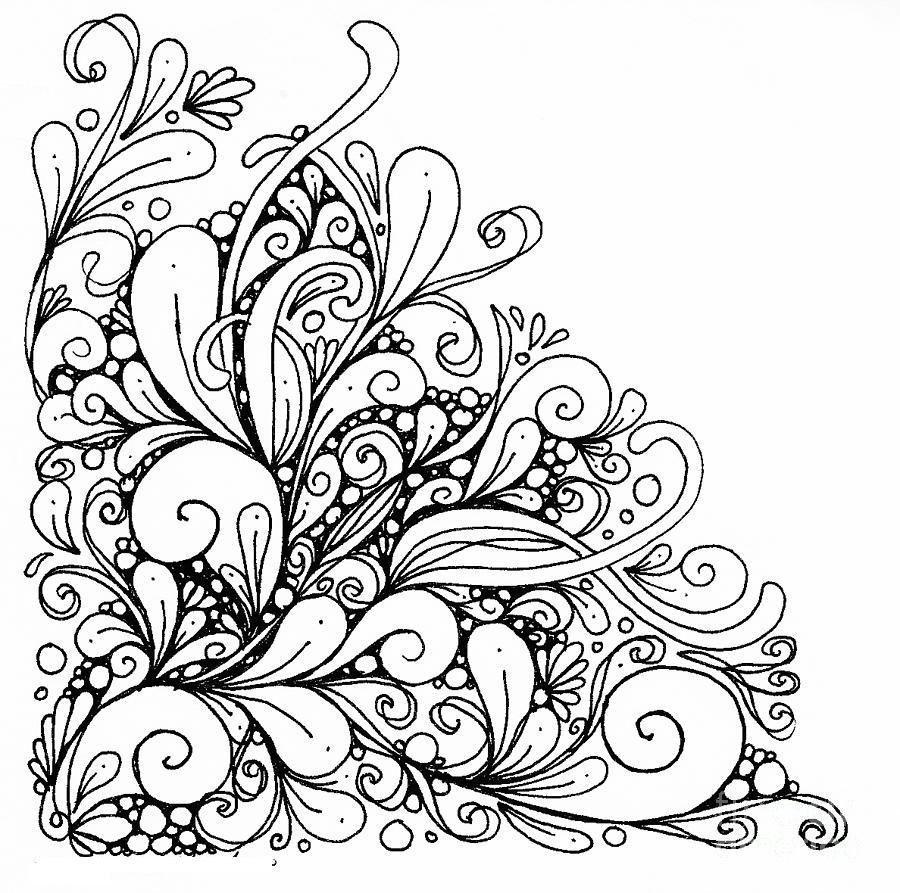 Нарисовать рисунок с узорами