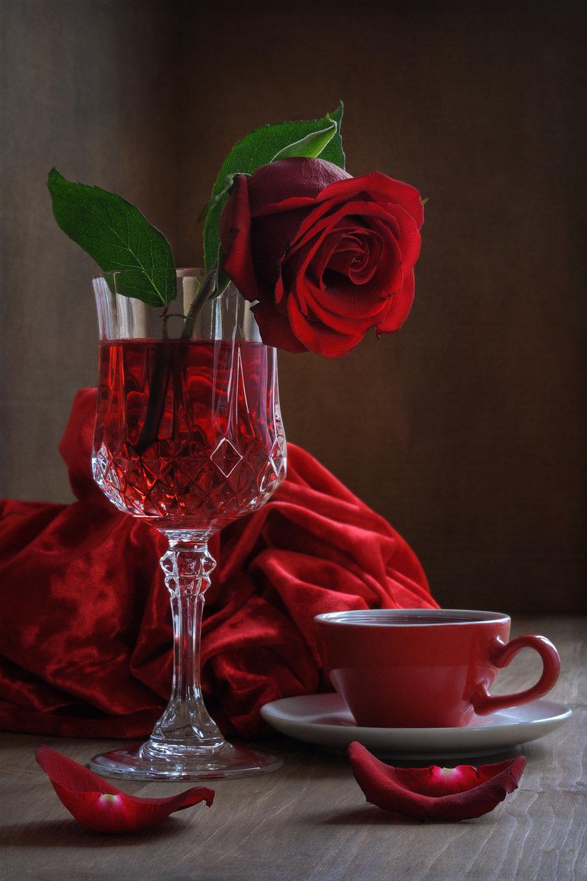 Своими руками, картинки добрый вечер розы