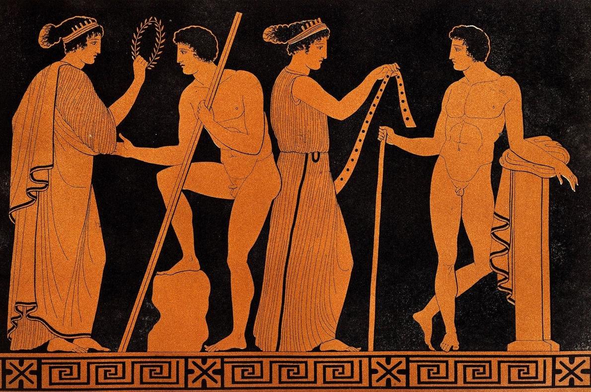 нужно олимпийцы греции древней картинки части можно
