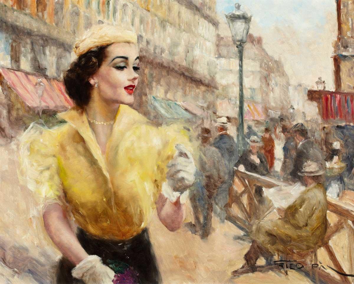 Картинка парижанка, картинки