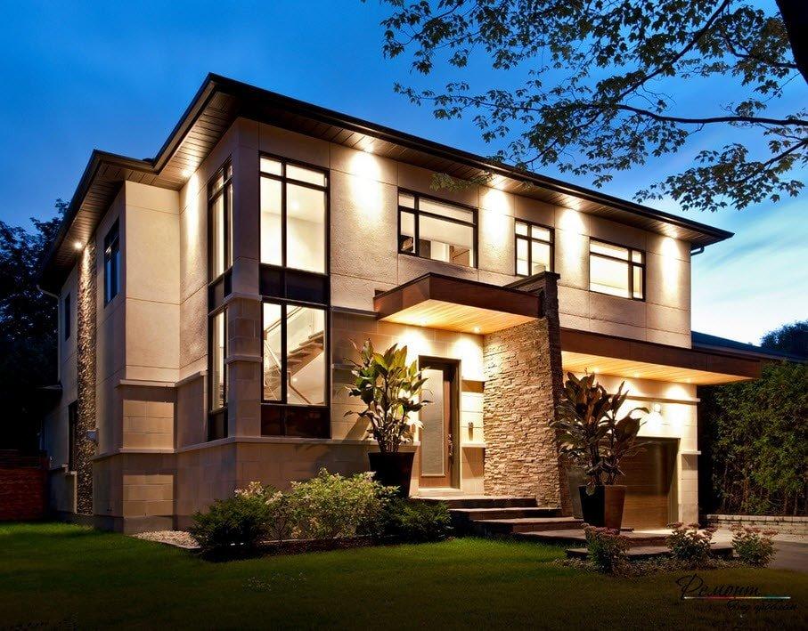 бережные родители современный дизайн фасадов частных домов фото лучше всего
