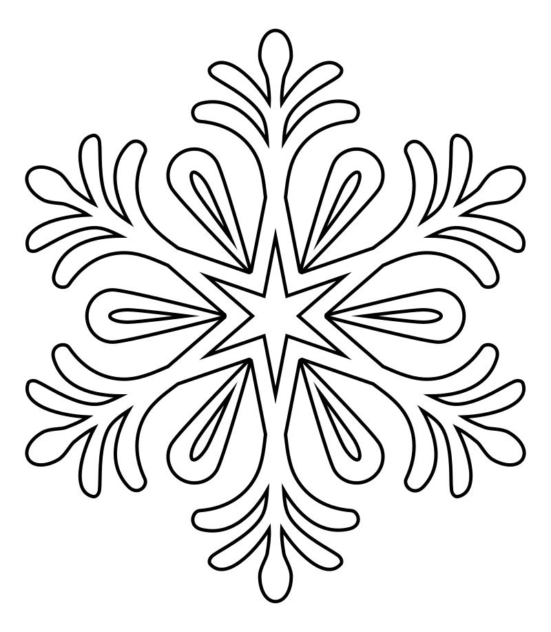 снежинки новогодние картинки для распечатки насколько богата