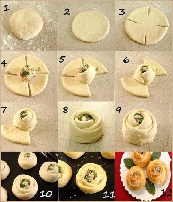 здесь фигурки из дрожжевого теста фото как делать салатики закуски, сервируя