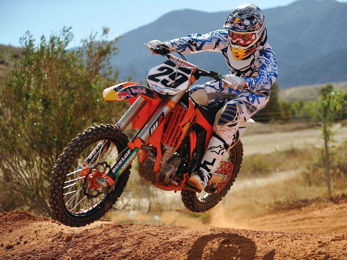 Красивые картинки спортивных кроссовых мотоциклов