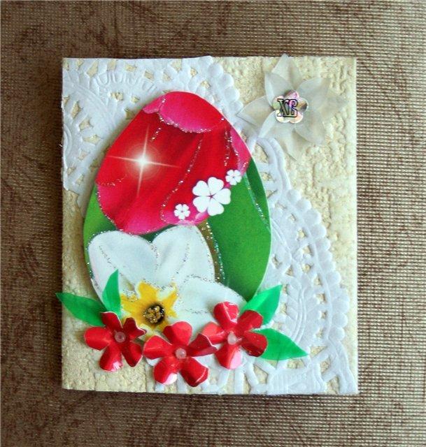 Поделки открытки у пасхе, новогодние открытки своими