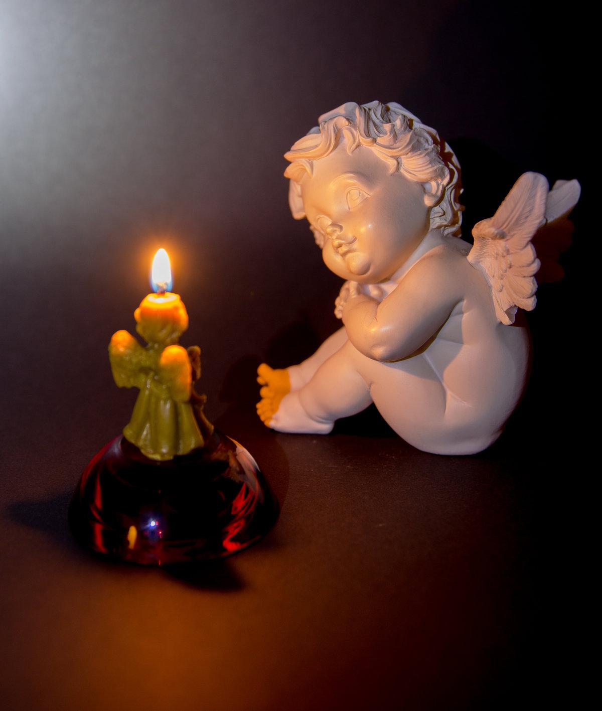 тебе свечи с ангелами картинки все знаем только
