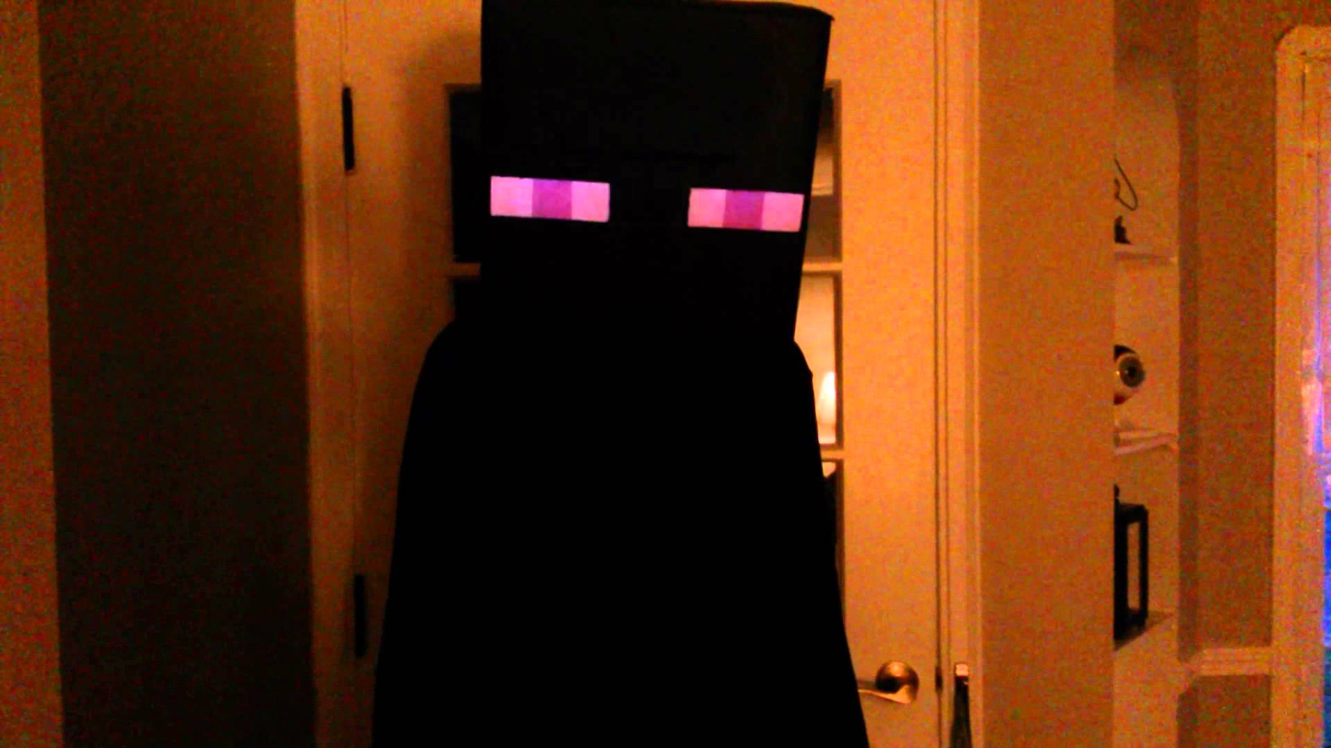 Similiar Minecraft Enderman Costume Keywords Card From User I