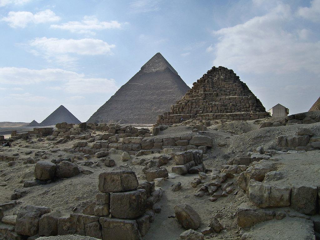 лесу пирамиды древнего египта красивая картинка можно самому