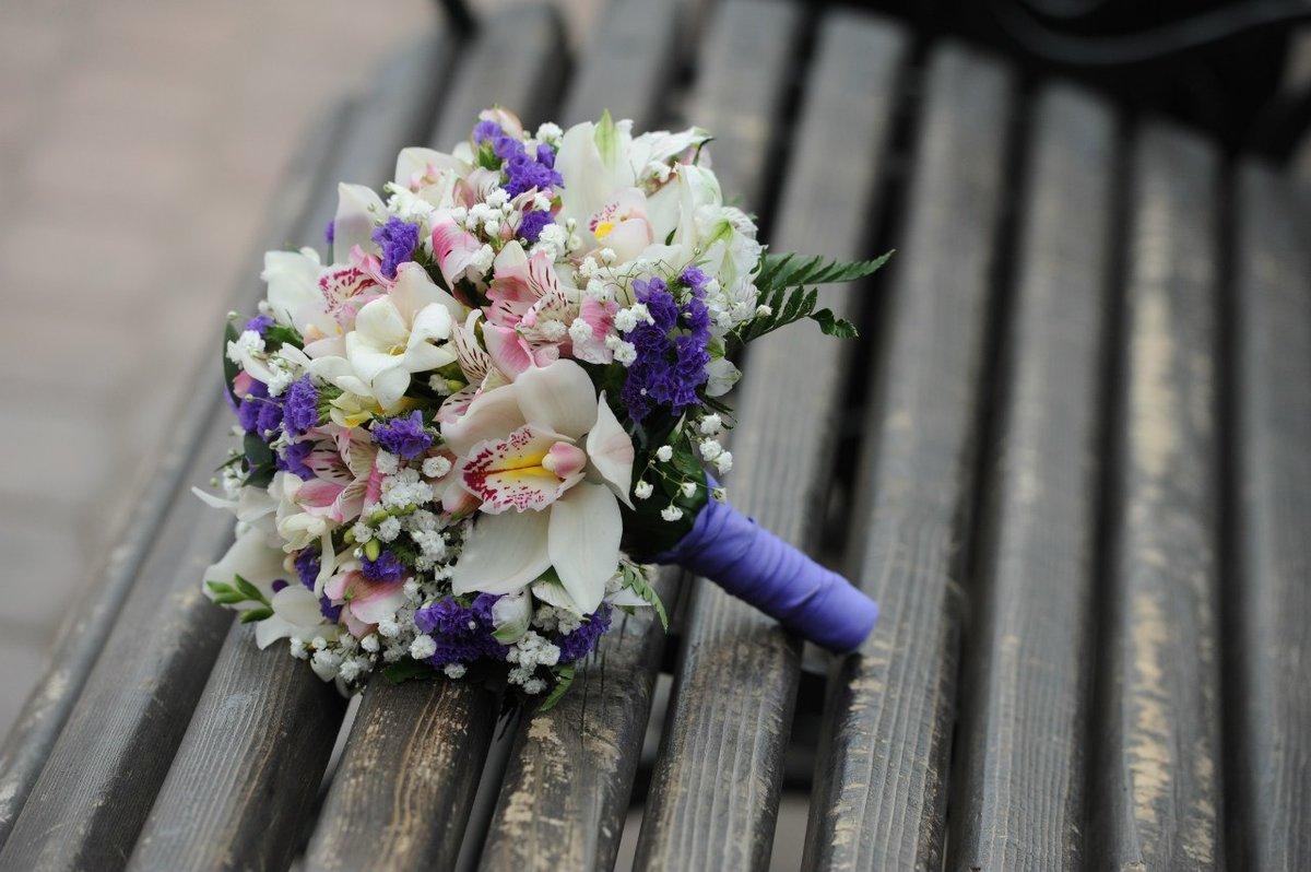 Букет невесты из орхидеи летом фото, розовых орхидей
