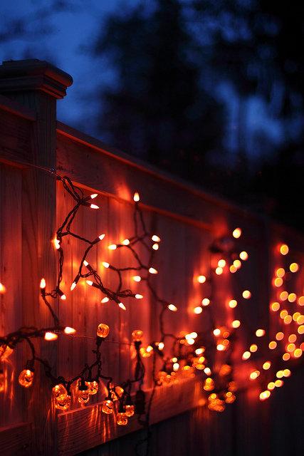 Уютные осенние картинки с огоньками
