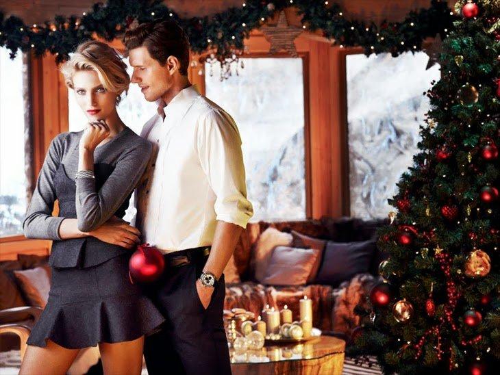 Парень и девушка в новый год картинки
