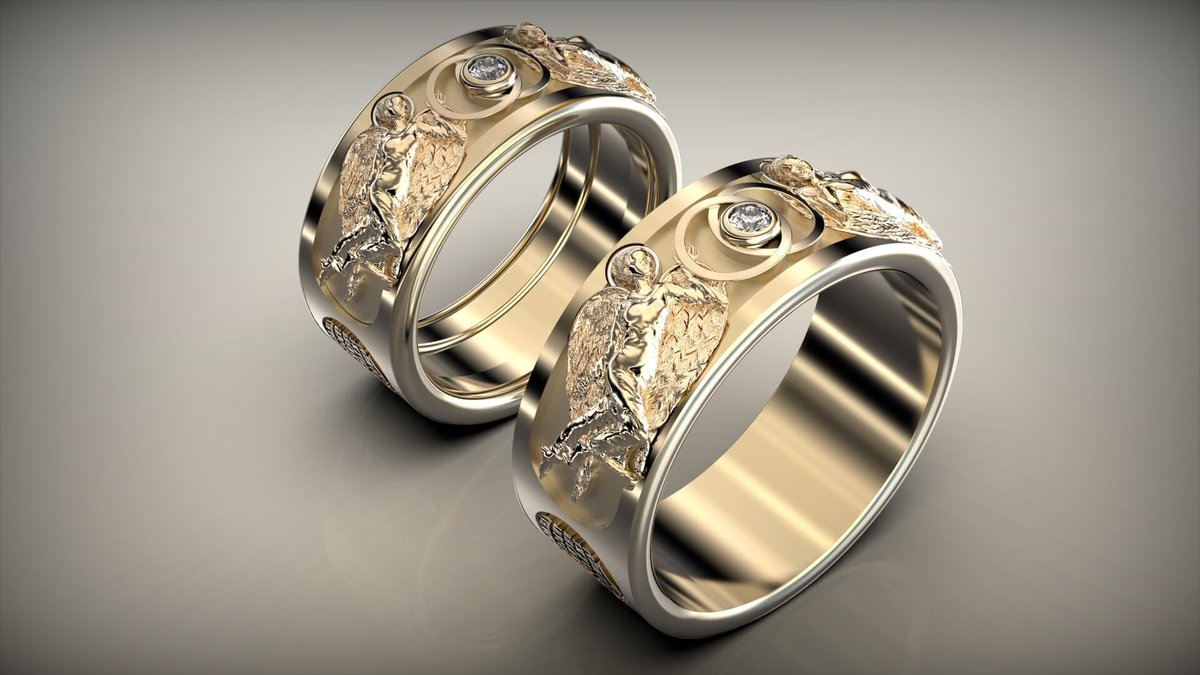 необычные обручальное кольца с картинками программа
