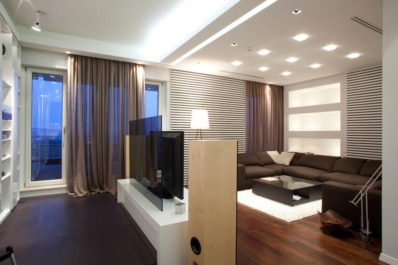 Портфолио дизайн квартиры в стиле минимализм