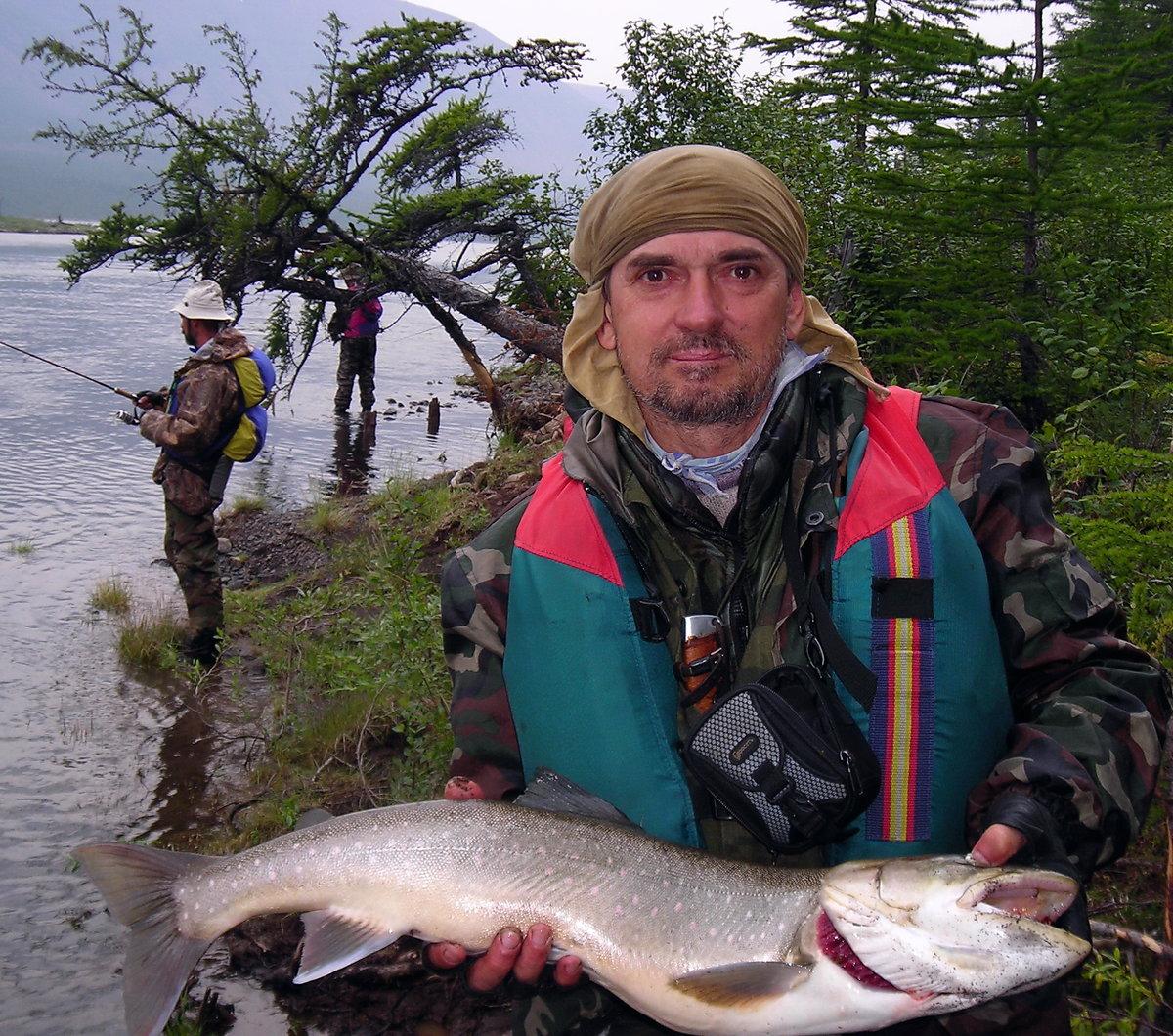 Рыболовные базы в Красноярском крае