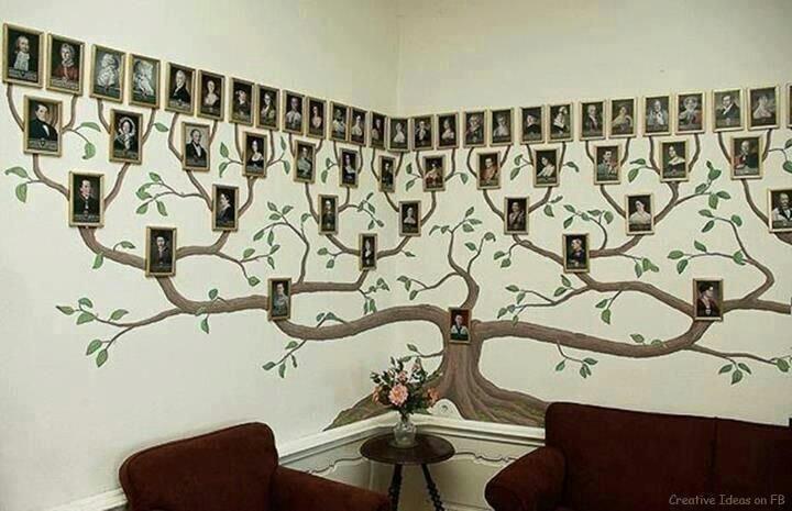 Семейные фотографии на стенах можно встретить во многих домах.