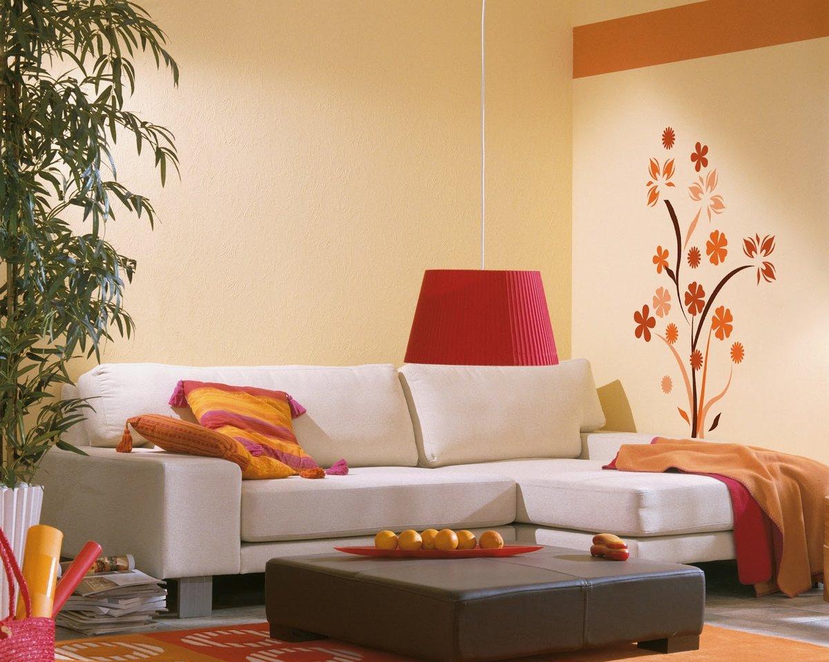картинки крашеные стены в квартире фоты обычно