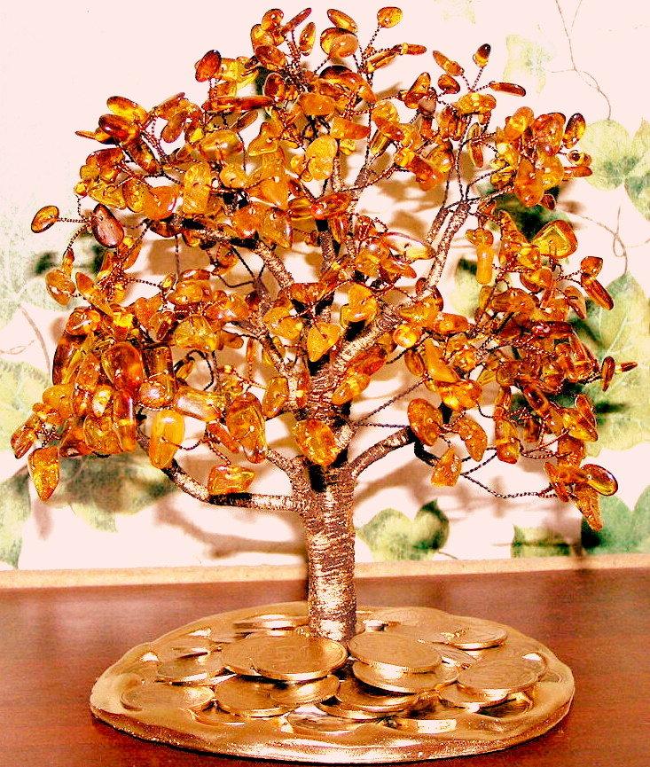 сравнения цен, дерево с янтарем своими руками фото нужно тщательно помыть