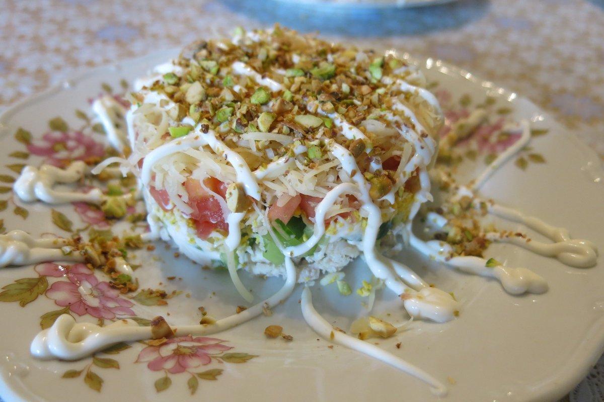 Салат с фисташками рекомендации