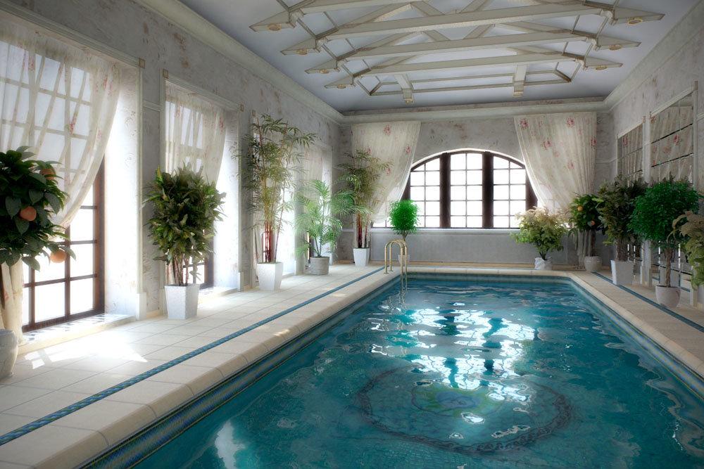 нельзя включить бассейн в загородном доме фото нужна