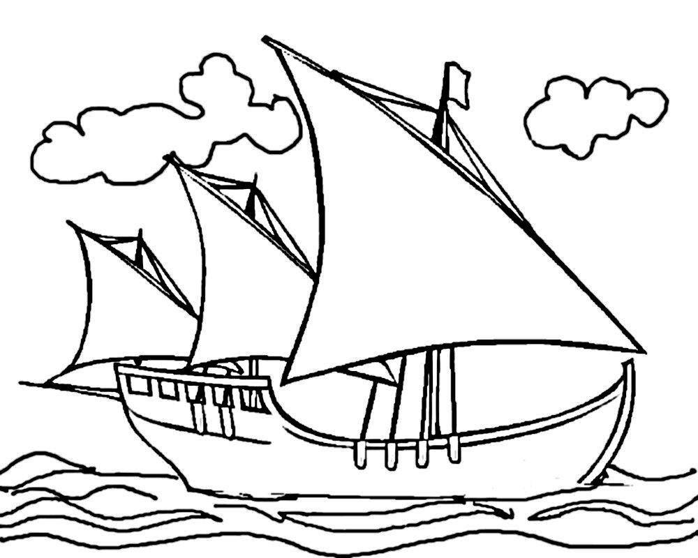 «Раскраска корабли, раскраски для мальчиков. Скачать и ...