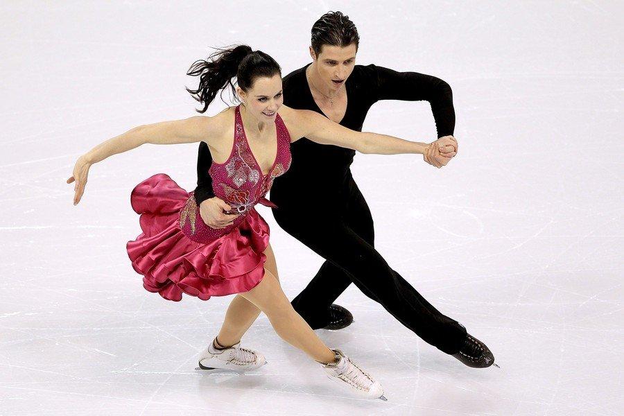 канада фигурное катание пара спортивные танцы смотреть тяжело