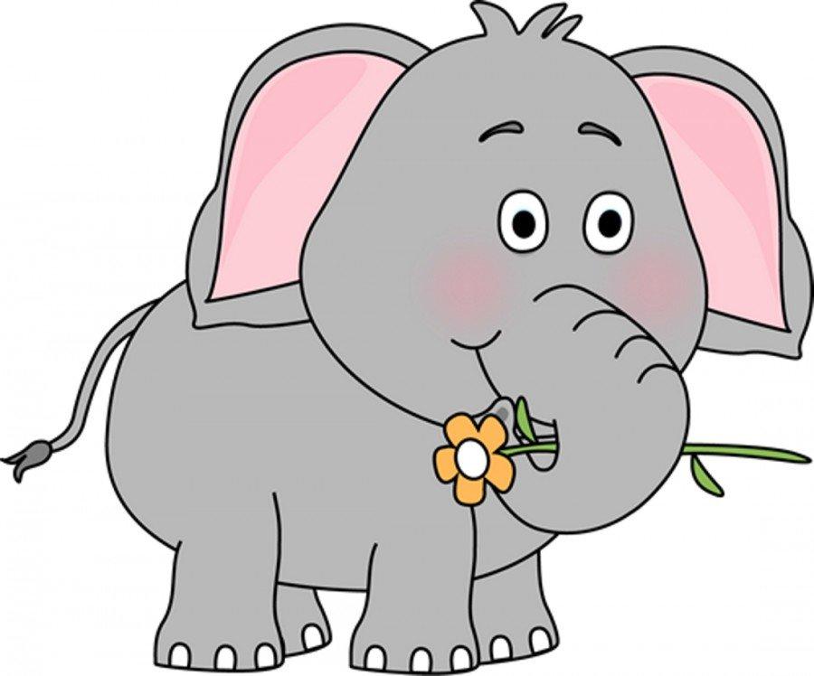 слоненок картинка для малышей почувствовать
