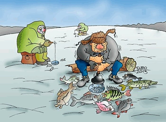 День рождения, картинки рыбаков прикольные