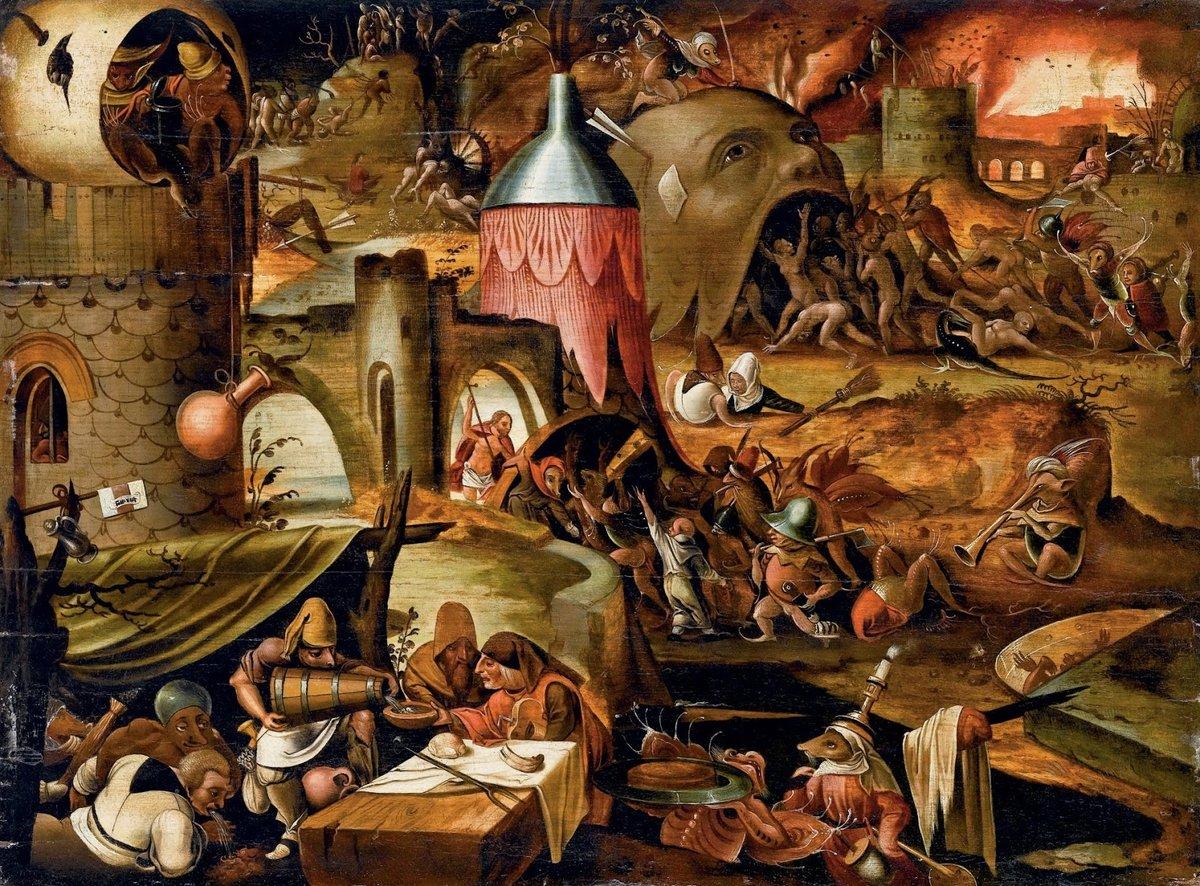 ад на картинах известных художников так как сортов