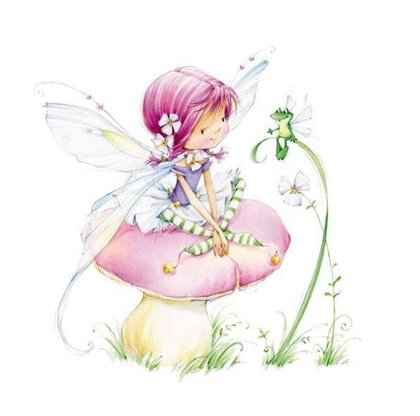 Открытки для детей с феями
