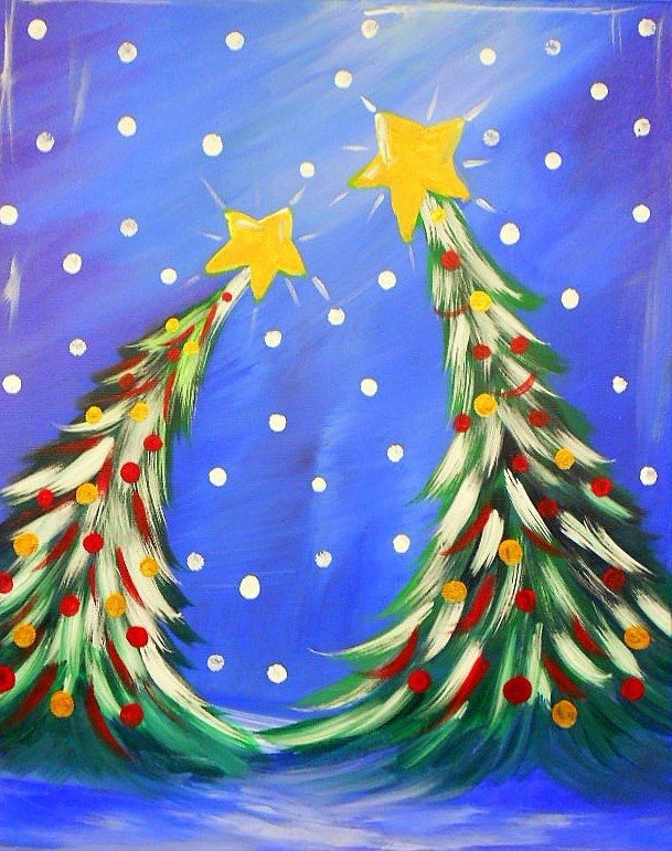 Новогодние открытки красками для детей, сергея бодрова надписями