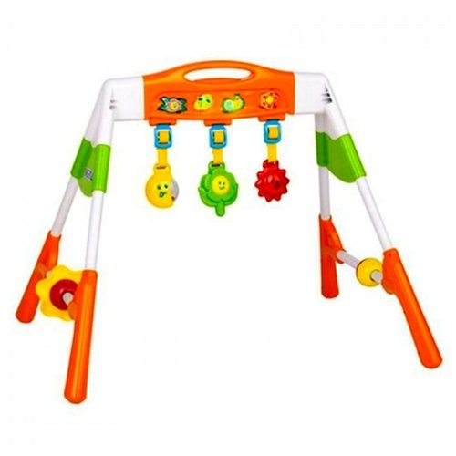 Интерактивная игрушка Жирафики Каруселька для купания от 18 месяцев разноцветный 681124