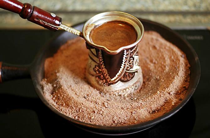 Варим кофе в турке рецепты видео