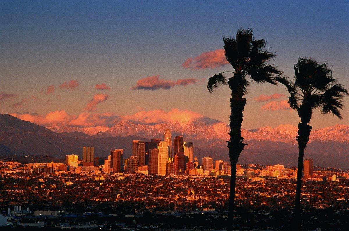 Лос-анджелесе в картинках