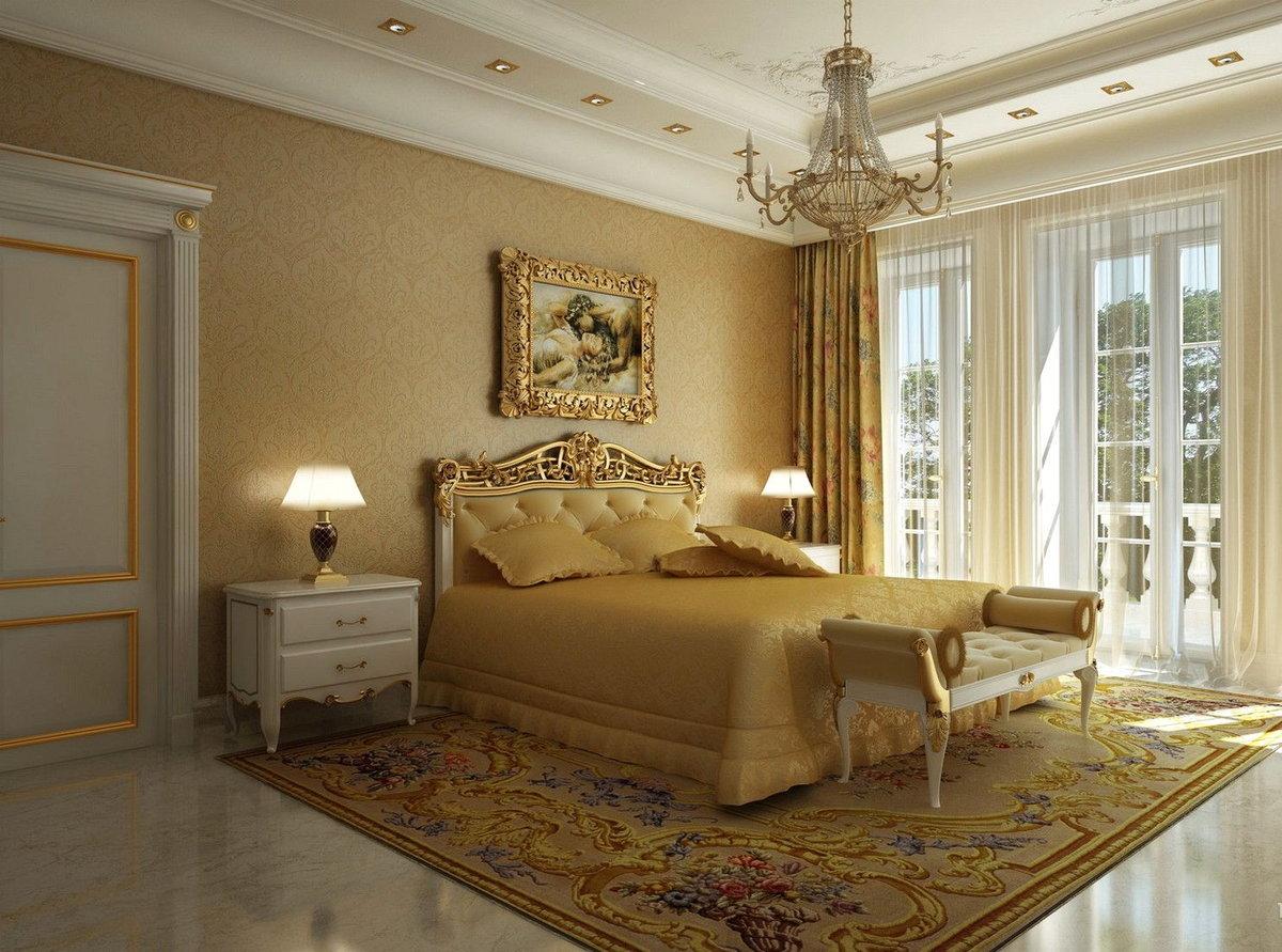 картинки спальни в классическом стиле них существуют
