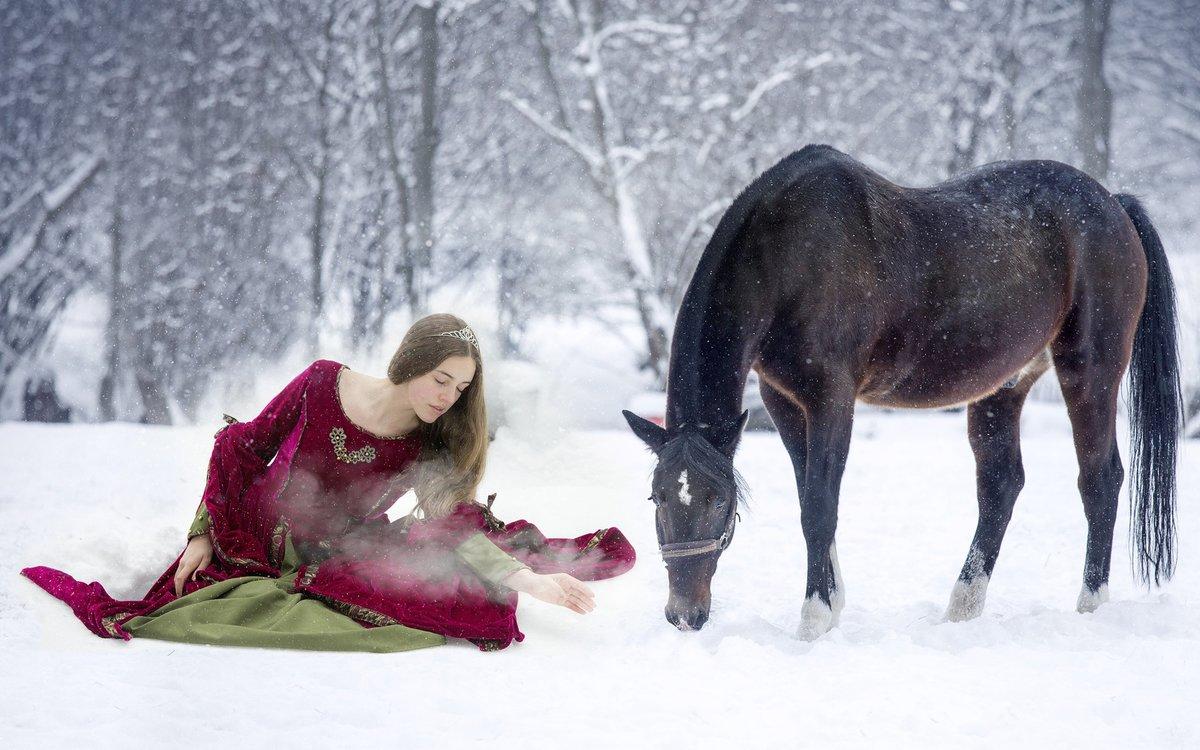 так понравились фотосессия на коне зимой общем, как отмечено