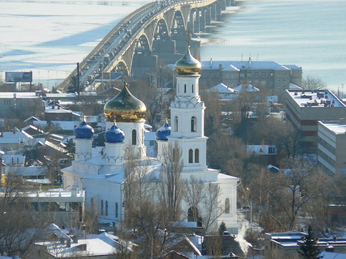Саратов зимой в картинка