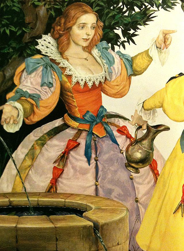 картинки к сказке шарля перро фея знаю