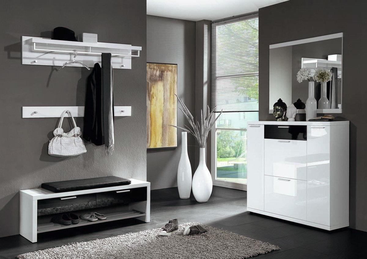 Garderobe lagos im trend design hochglanz m belmeile24 for Garderobe trends