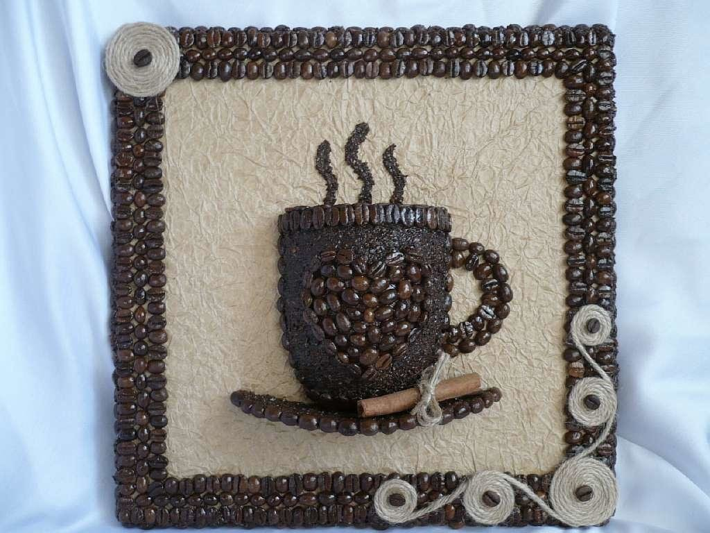 Картинка поделки из кофе