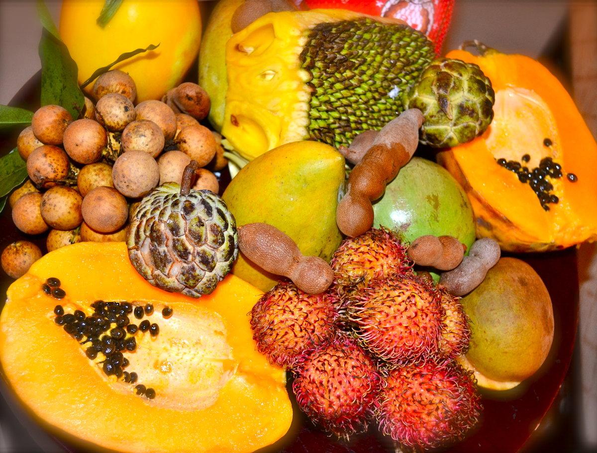 тропические фрукты названия картинки жилой подходящий