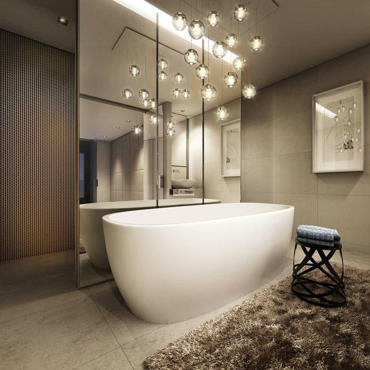 Светильники в ванную фото 87