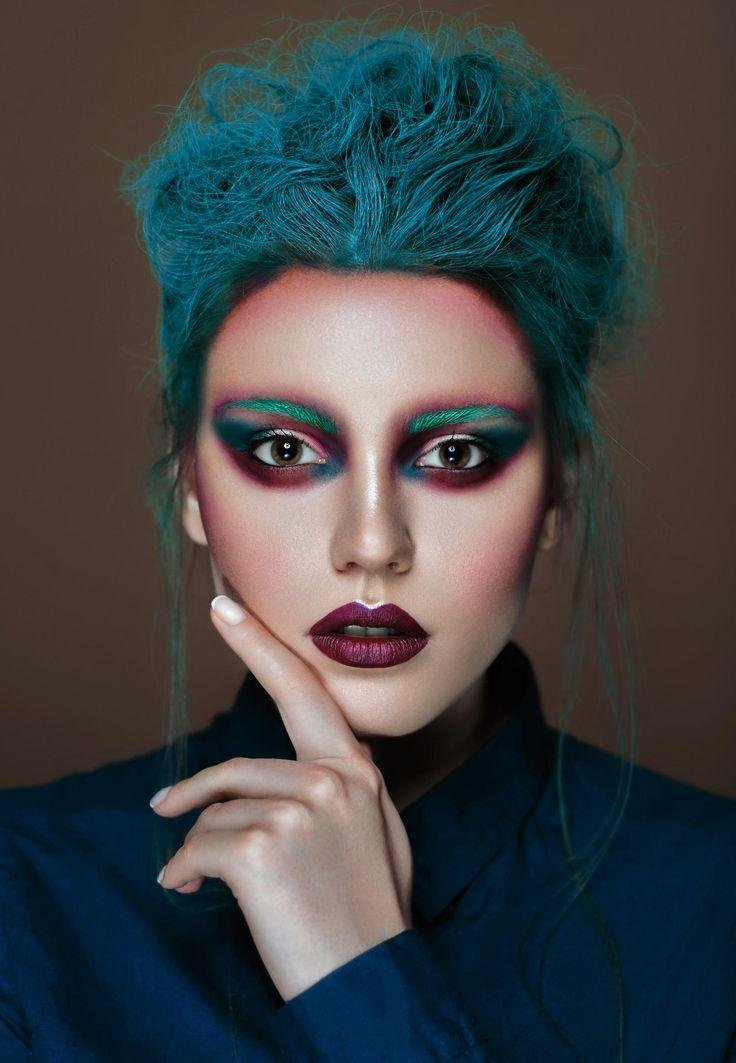 extreme makeup looks - 736×1063