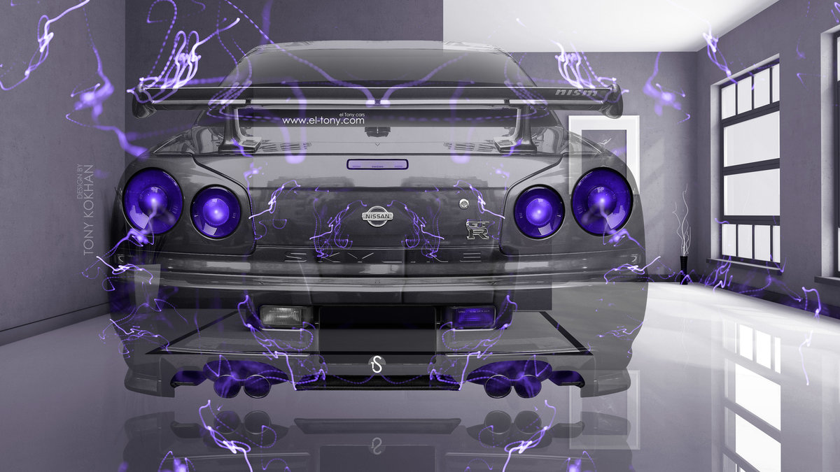 Nissan Skyline GTR R34 JDM BackUp Fantasy Crystal