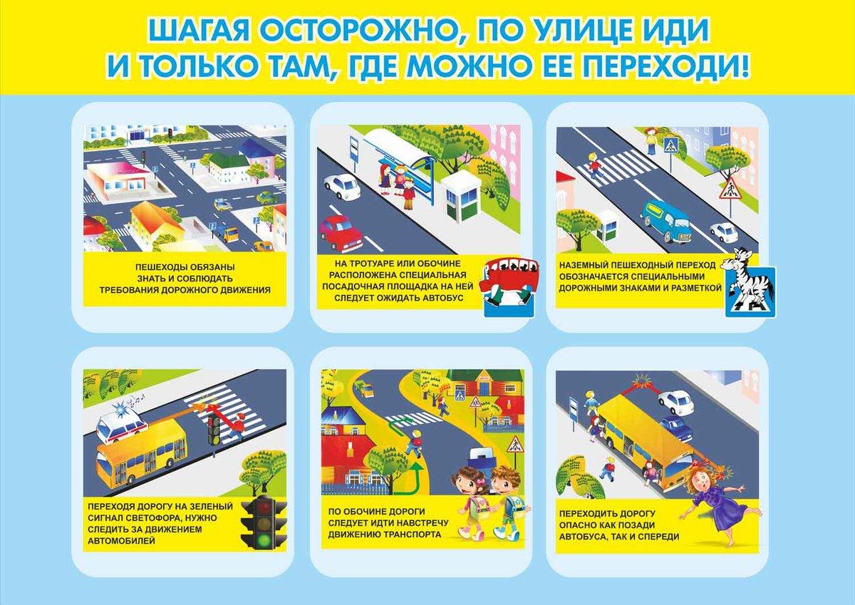 Картинки правил дорожного движения для дошкольников