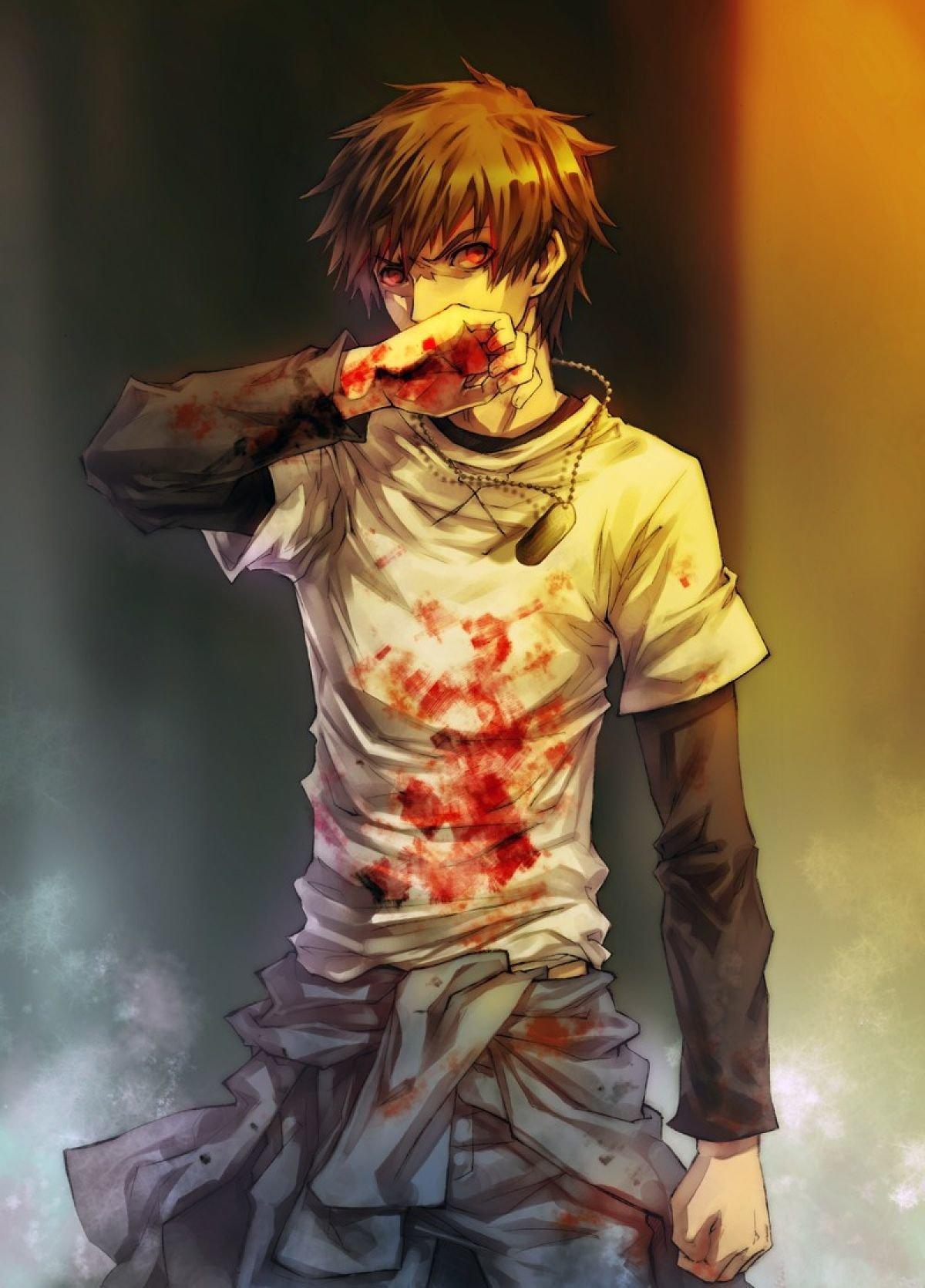 Картинки парни в крови