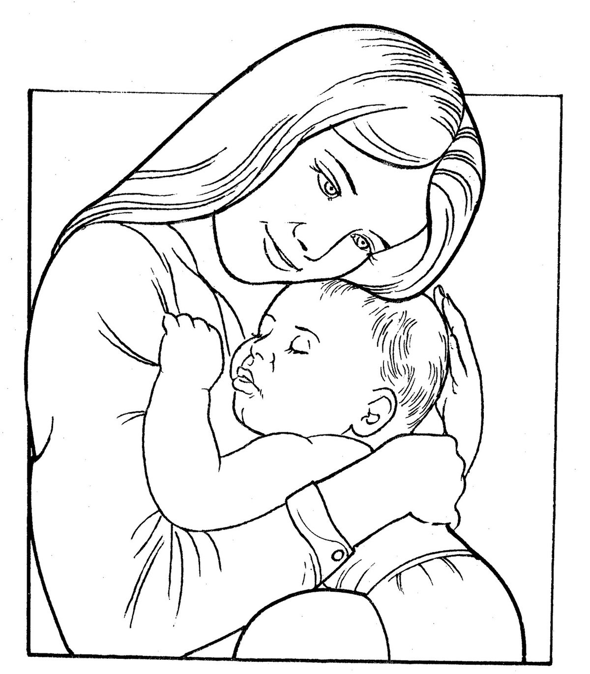 Скопировать, раскраски для мамы распечатать