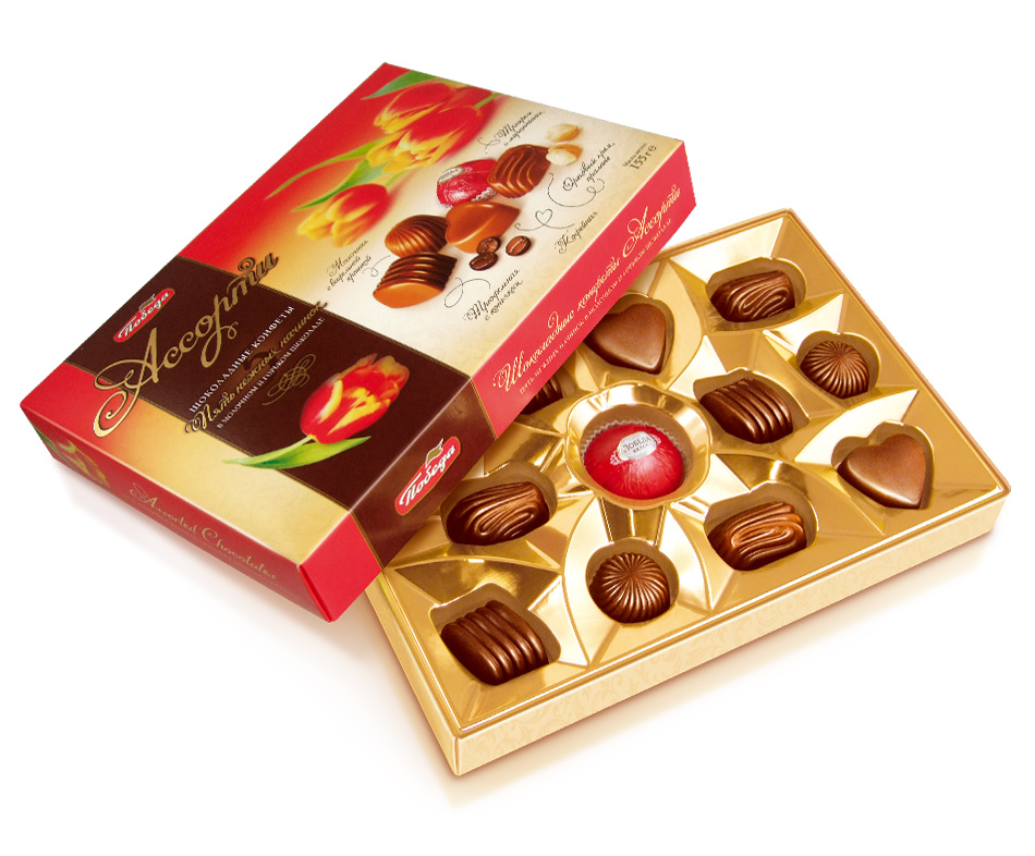 Картинки коробки шоколадных конфет