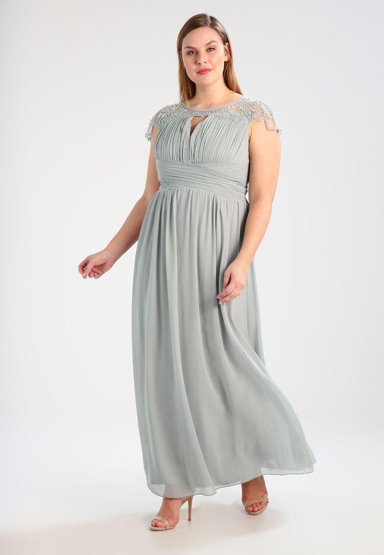 90b08a0d4af5e2a Из шифона создают превосходные вечерние платья для полных женщин. На  свадьбу и