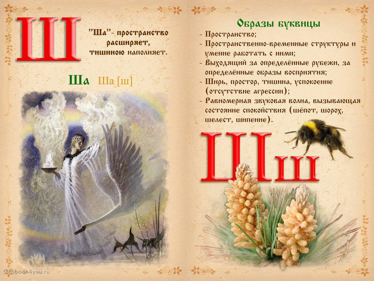 Про, славянская буквица в картинках