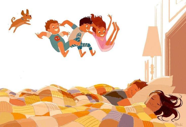 Руслана картинки, смешная картинка утро мамы
